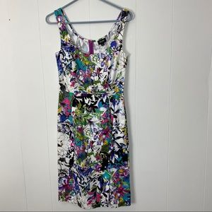 Nicole by Nicole Miller Floral Tank Dress